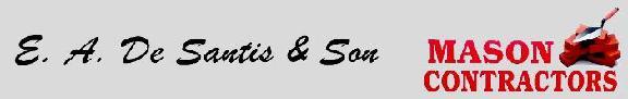 E. A. De Santis & Son Masonry
