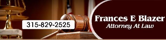 Frances E Blazer Attorney at Law