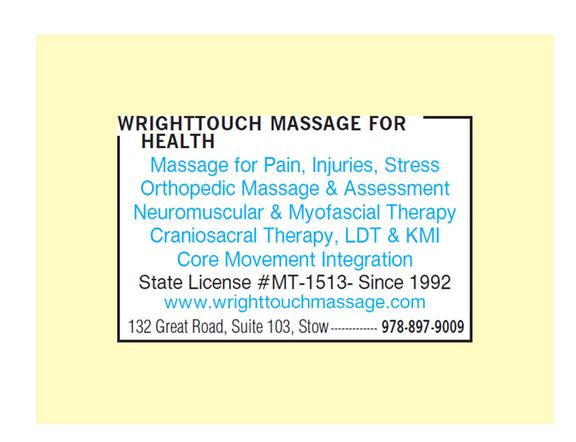 Wrighttouch Massage For Health