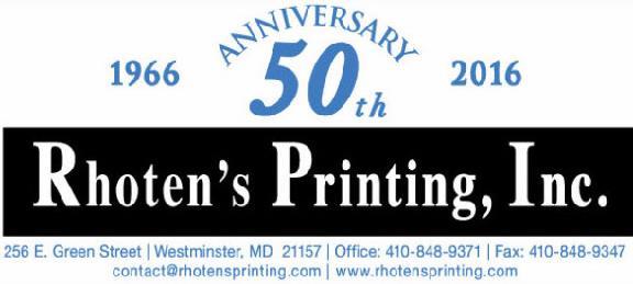 Rhoten's Printing Inc