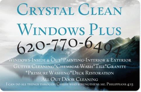 Crystal Clean Windows Plus