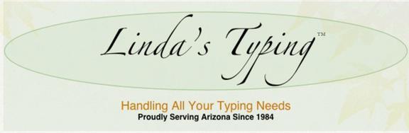 Linda's Typing & Transcription