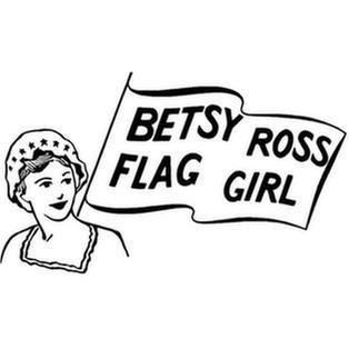 Betsy Ross Flag Girl