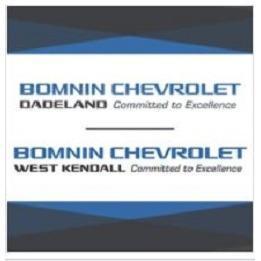 Bomnin Chevrolet Kendall >> Bomnin Chevrolet West Kendall 11701 Sw 152nd Street Miami Fl