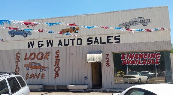 W & W Auto Sales >> W W Auto Sales 723 W 7th St Texarkana Tx