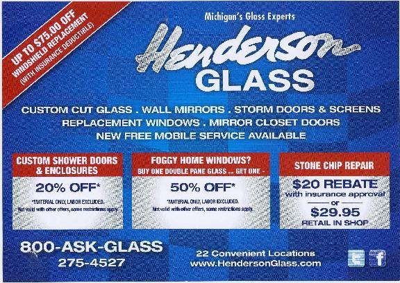 Henderson Glass 32680 Van Dyke Ave Warren Mi