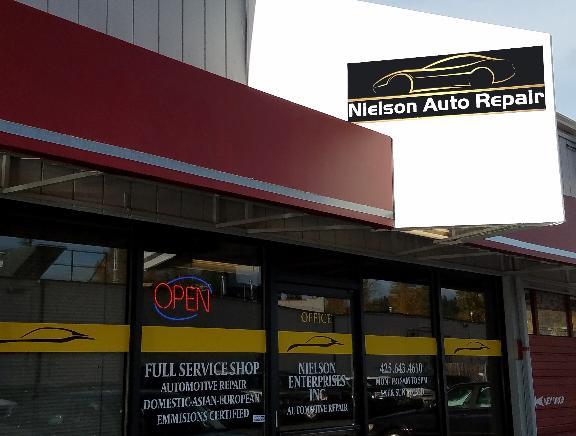 Nielson Auto Repair 12700 Bel Red Rd Bellevue Wa