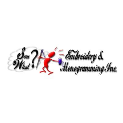 Sew What Embroidery - 2505 Sycamore Ave, Wantagh, NY