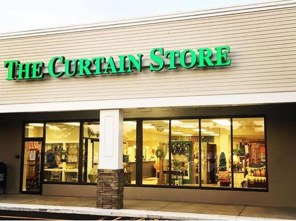 spring drapery logo cullman crest in curtain center al curtains store the