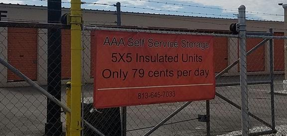 Aaa Self Service Storage