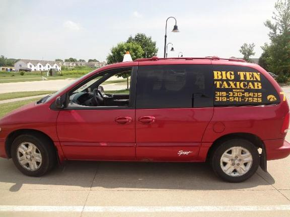 Big Ten Taxi Cab North 310 N George St North Liberty Ia