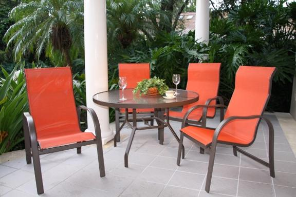 Lovely Palm Casual Patio Furniture Idea
