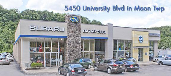 Day Apollo Subaru 5450 University Blvd Moon Township Pa