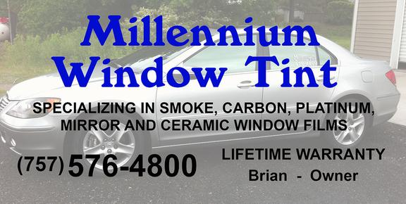 Tnt Tinting Virginia Beach >> Millennium Window Tint 3901 Garwood Ave Ste 14 Portsmouth Va