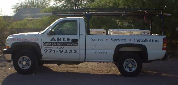Able Garage Door Service Llc In Tucson Az 2711 W Calle Del Tigre