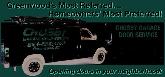 sc 1 st  Superpages & Crosby Garage Door Service in Greenwood SC | PO Box 11 Greenwood SC