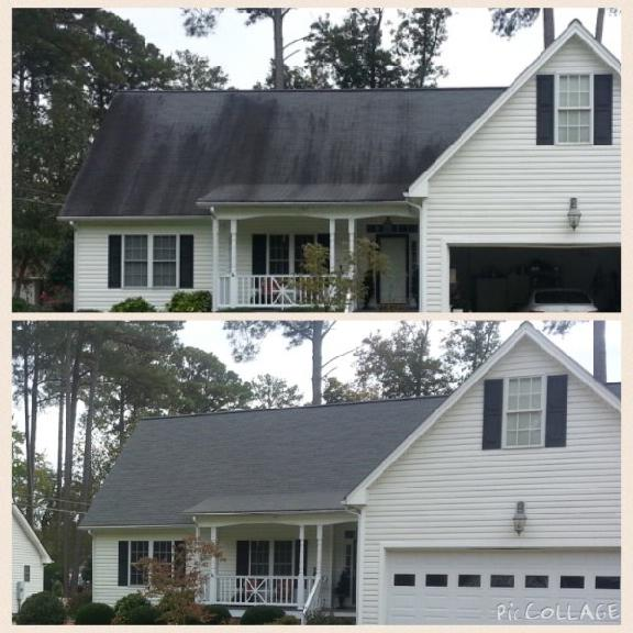 Residential Pressure Washing Roof Cleaning Richmond Va
