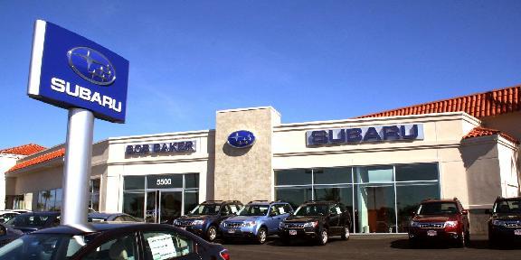 Bob Baker Subaru 5500 Paseo Del Norte Carlsbad Ca