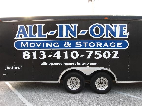 ALL IN ONE Moving And Storage Of Brandon,Fl.