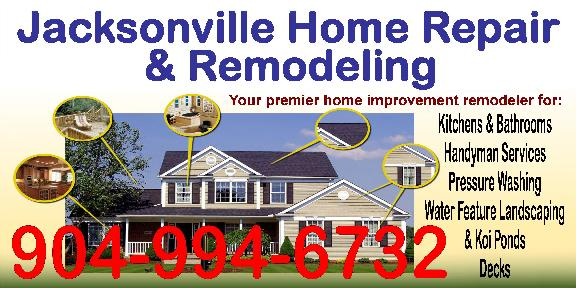 Jacksonville Home Repair And Remodeling 11290 Southbury Pl