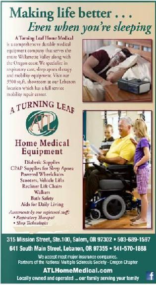 A Turning Leaf Home Medical Equipment - 315 Mission St SE, Ste 101