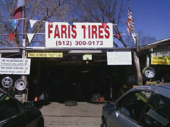Faris Tires Wheels 12030 N Lamar Blvd Austin Tx