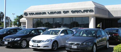 Coliseum lexus oakland used cars