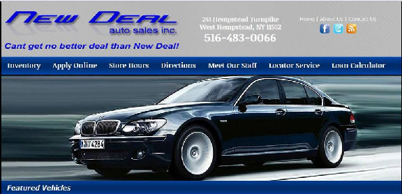 New Deal Auto >> New Deals Auto Sales Inc 241 Hempstead Tpke West