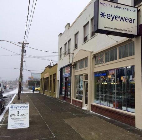 asterix eyewear in portland or 4936 southeast foster road