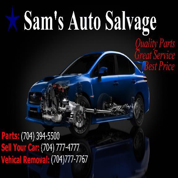Sam Auto Salvage Inc 2711 Wilkinson Blvd Charlotte Nc