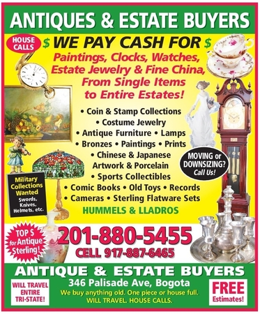 Antiques and Collectibles Buyers, LLC - 346 Palisade Ave