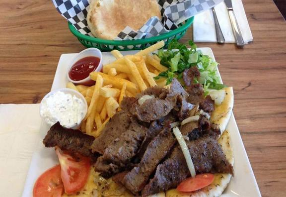 Gyro And Kabob Grill - 7660 Mccart Ave, Fort Worth, TX