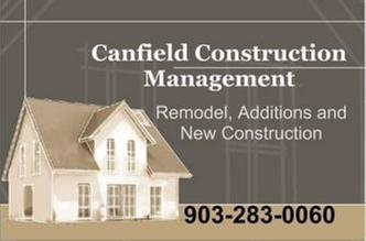 Canfield Construction Management In Tyler TX Bathroom Remodeling - Bathroom remodel tyler tx