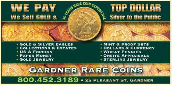 Gardner Coins & Cards - 13 Pleasant St, Gardner, MA