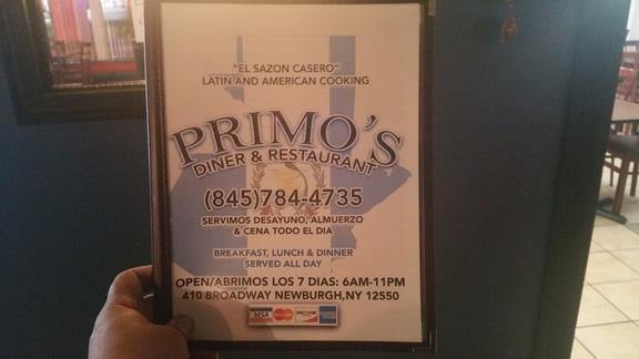 Primos Diner Rest 410 Broadway Newburgh Ny