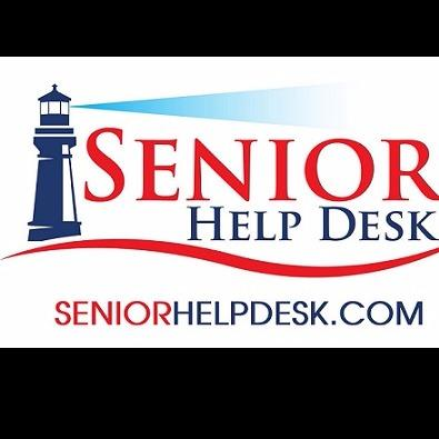 Beautiful Senior Help Desk