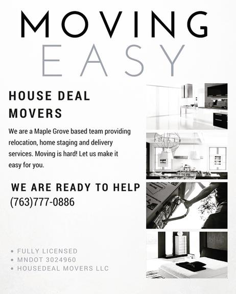 House Deal Movers - 6819 Narcissus Ln N, Maple Grove, MN