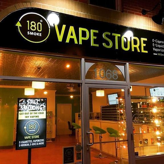 180 Smoke Vape Store - 1068 Elmwood Ave, Buffalo, NY