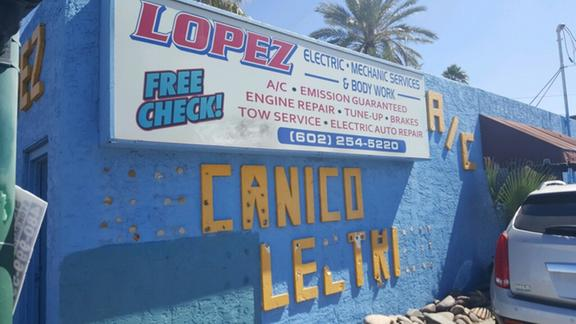 a lopez auto electric free towing with repairs in phoenix az
