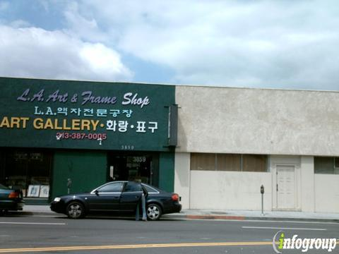 Los Angeles Frame Shop in Los Angeles, CA | 3859 W 6th St, Los ...