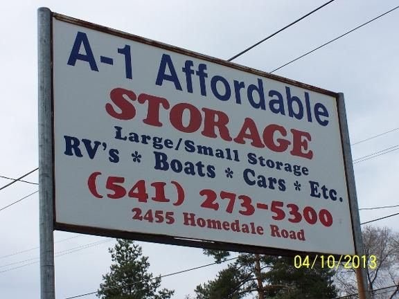 A 1 Affordable Storage