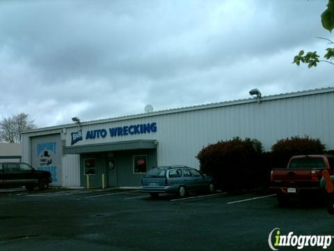 B R Auto Wrecking 511 N Columbia Blvd Portland Or