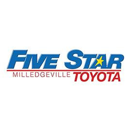 Five Star Toyota >> Five Star Toyota Scion Of Milledgeville 2401 North Columbia Street